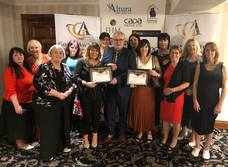 Talk To Tom scoop top Charity prize at inaugural Gorey Awards event