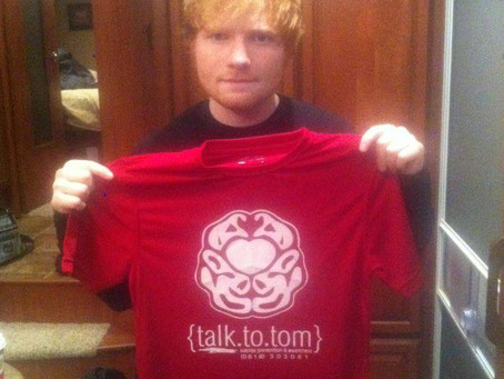 Ed Sheeran teams up with Talk to Tom