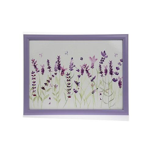 Purple Lavender Laptray