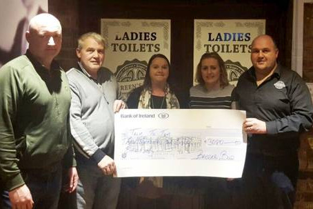 A close shave raises €3k for Talk to Tom