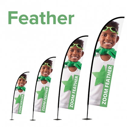 YB Teardrop or Banner Flags ( Small )