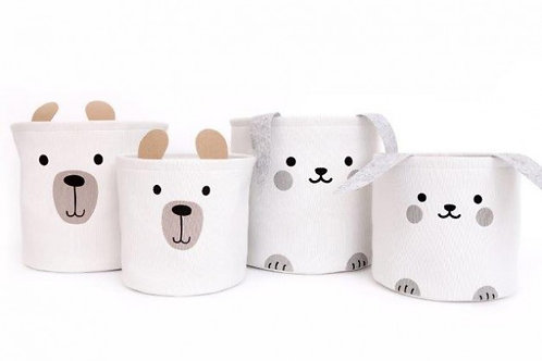 BUNNY AND BEAR BASKET SETS