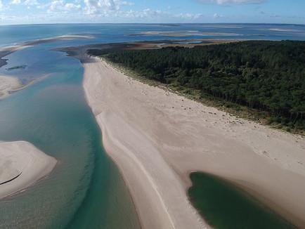 Lagoons at Curracloe Beach