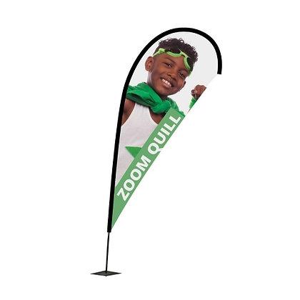 YB Teardrop or Banner Flags ( Medium )