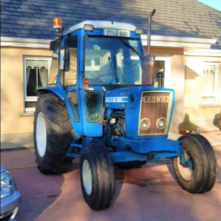 Charity Tractor & Car Run