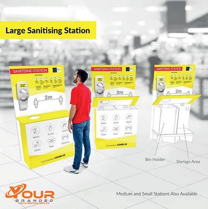 Large Sanitising Station