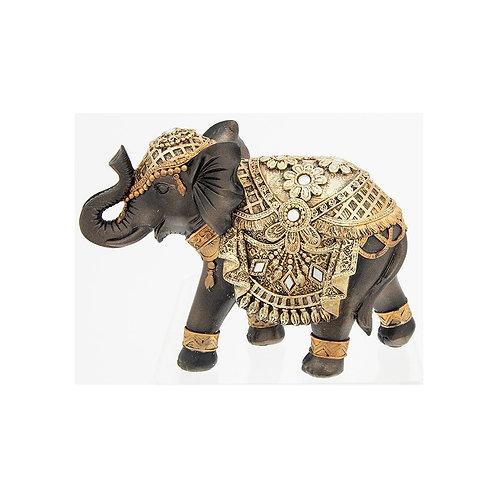 Black & Gold large Elephant