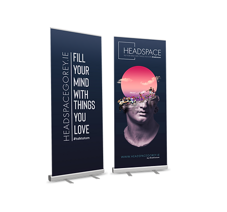 YB Roll Up/Pull Up Banner Economy