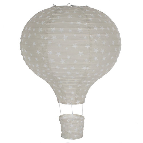 Hot Air Balloon Lampshade Sage or Peach