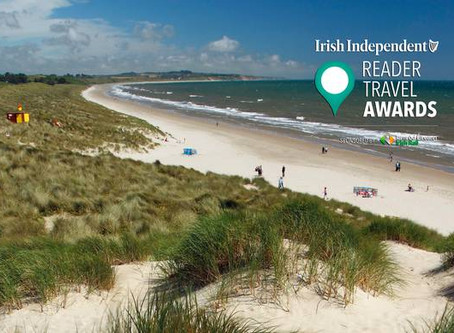 Curracloe Crowned Ireland's Favourite Beach for a Second Year Running !