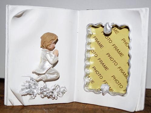 Portafoto a libro con bimbo