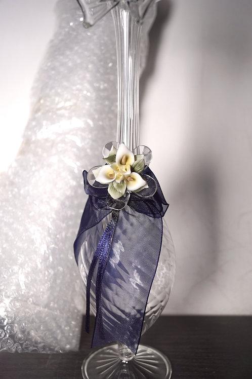 Anfora vetro soffiato - Stock 12 pezzi: