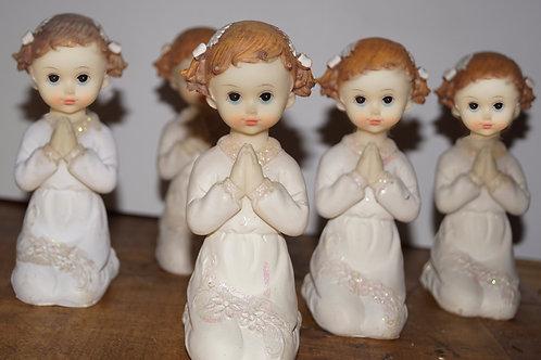 Bambina in preghiera - Stock 5 pezzi: