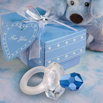 Ciuccio cristallo - Stock 11 pezzi: