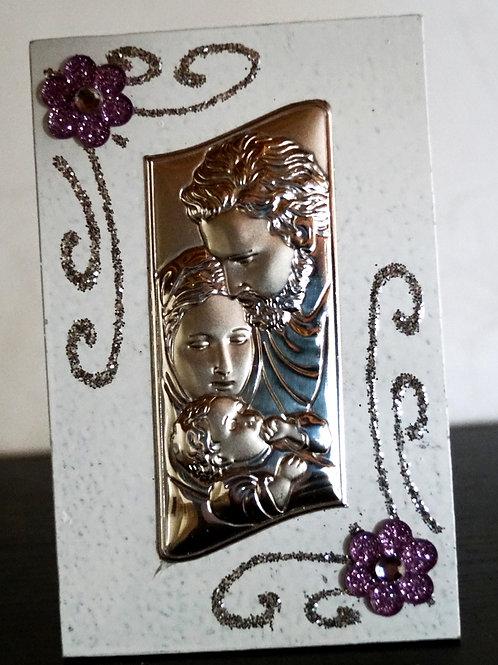 Icona Sacra Famiglia - Stock 3 pezzi: