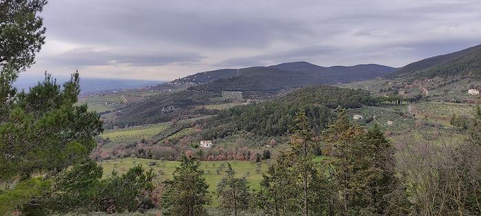 borgo lugnano in teverina italia umbria cuore verde vista panorama museo civico antiquarium grande guerra poggio gramignano