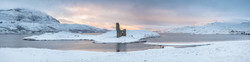 Ardvreck sunrise panorama