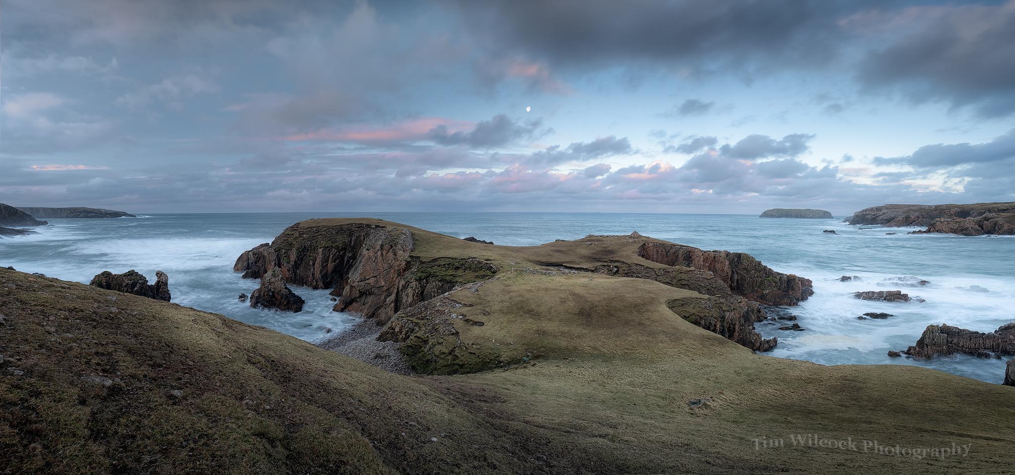 Lewis West Coast Panorama