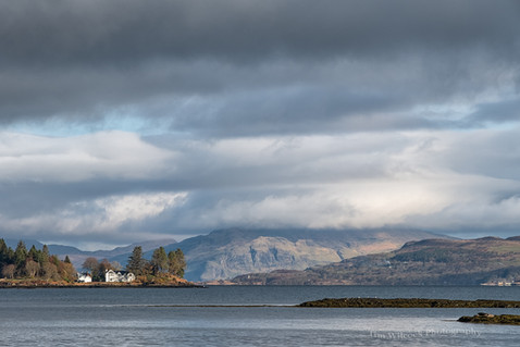 Across the Sound from Salen