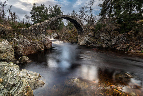 Carrbridge packhourse Bridge