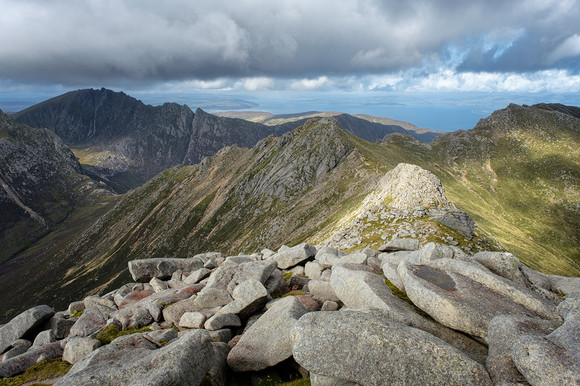 Across to North Goat Fell