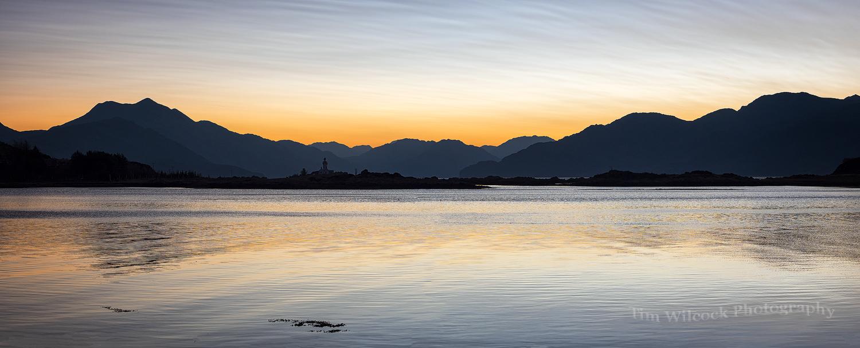 Ornsay Dawn Panorama