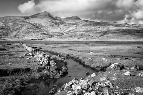 Ben Mor across Loch Scidain