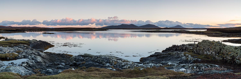 Loch Dheoir sunset