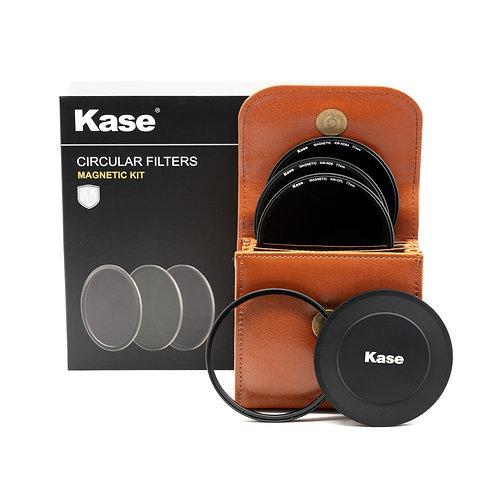 Kase Wolverine Magnetic circular filters 77mm 4 piece kit