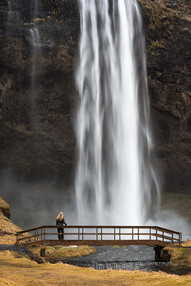 Watching the Spectacle at Seljalandsfoss