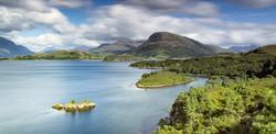 Loch Shieldaig Panorama