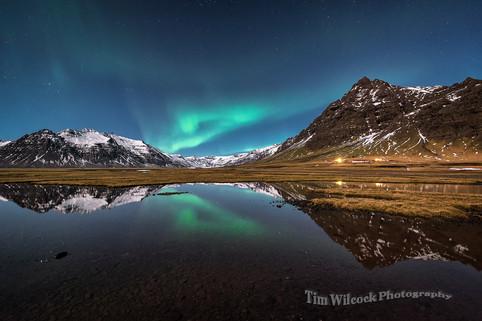 Iceland Aurora #1 v2