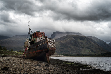 Corpach Boat Wreck