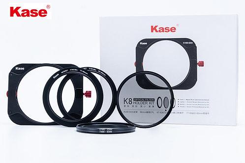K8 Slim 100 Filter Holder with Magnetic Slim Polariser Filter