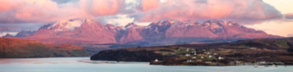 Cuillin Hills sunset