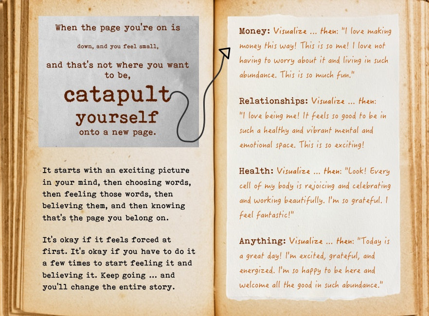 Catapult yourself. Cool Pages. Love the story you're living, no matter what page you're on.