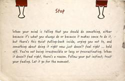 timing advice, help, Gusto