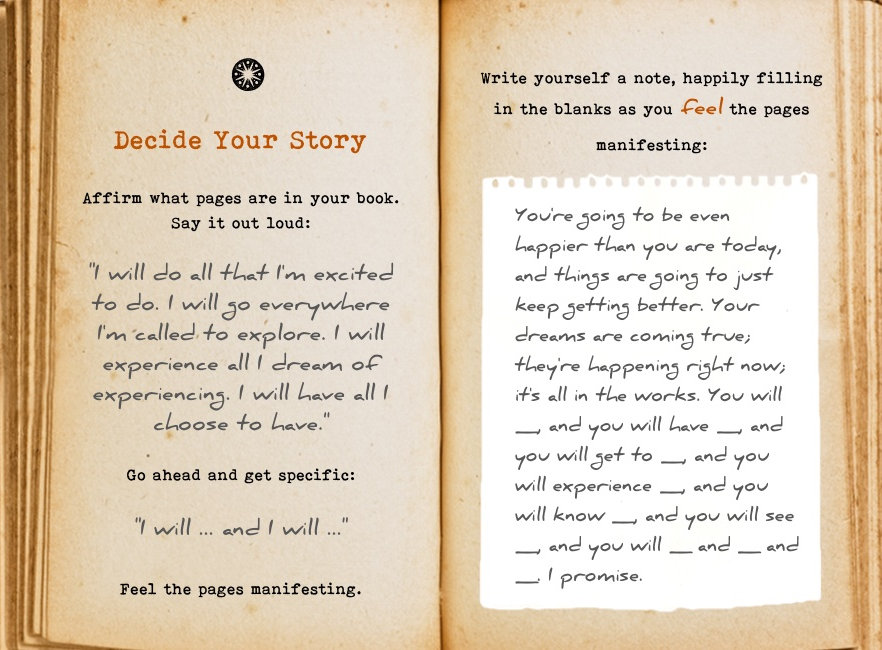 Decide your story. Cool Pages. Love the story you're living, no matter what page you're on.