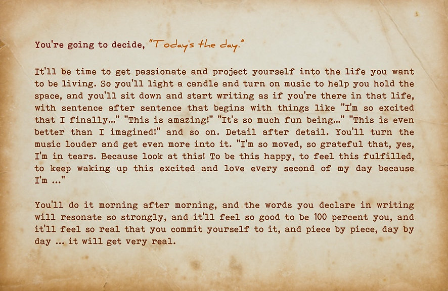 Message in a Bottle 12. Exciting predictions about you have shown up. Check them out.