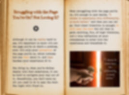 When the page you're on is a struggle. Cool Pages. Love the story you're living, no matter what page you're on.