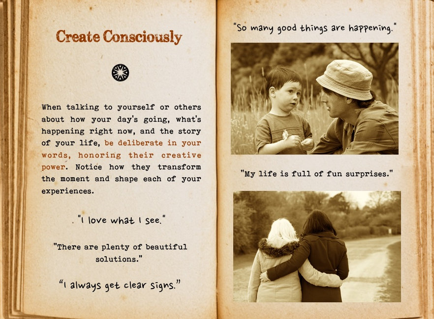 Create consciously. Cool Pages. Love the story you're living, no matter what page you're on.
