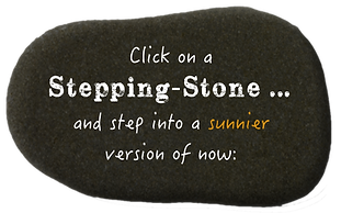 Feel better and step into a sunnier version of now with these stepping-stones.