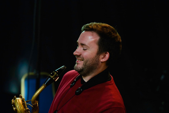 Mike Brogan, saxophone