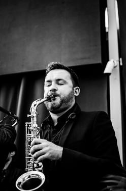 Mike Brogan, saxophone