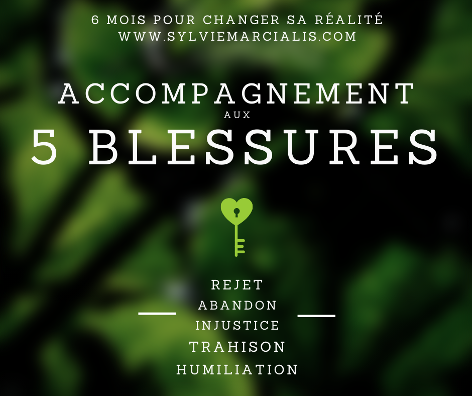 Accompagnement aux 5 blessures