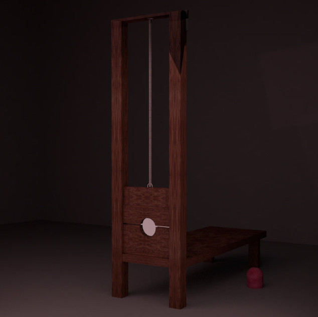 Theatrical Guillotine