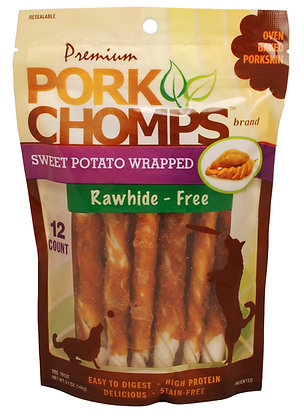 Small Wrapped Twists, Sweet Potato flavor, 12 ct