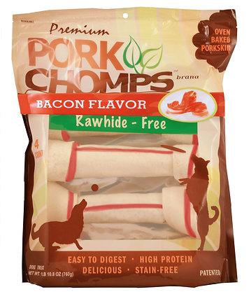 """10"""" Knots, Bacon flavor, 4 ct"""