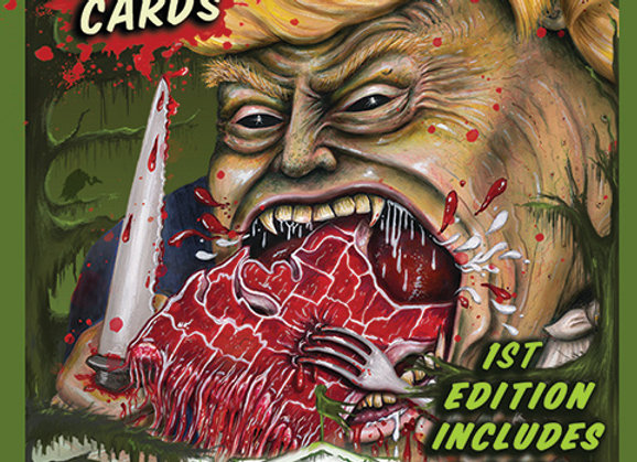 The Swamp Cabinet Trading Cards