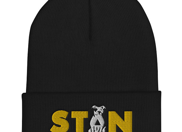 STAN - Embroidered Cuffed Beanie